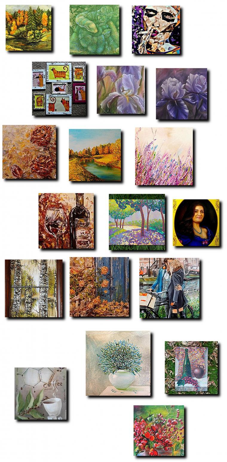 художники, новые картины