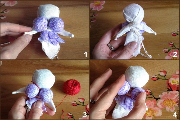 """Мастер-класс по созданию куклы """"Кубышка-Травница"""" - Livemaster - original item, handmade"""