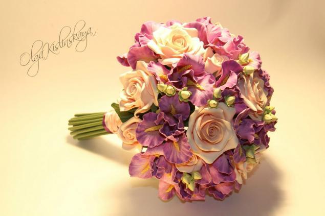 свадебный букет, букет невесты