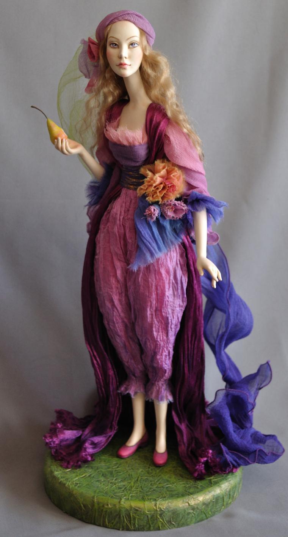 кукла ручной работы, автор