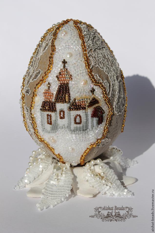 Схемы для вышивки бисером на яйцах