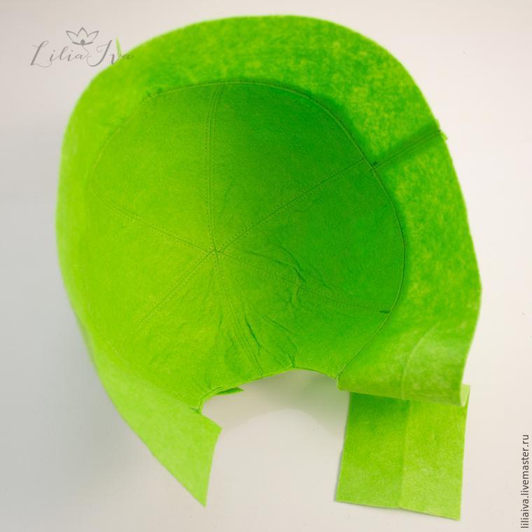 Шьем шапочку-капусту для детского капустника, фото № 13