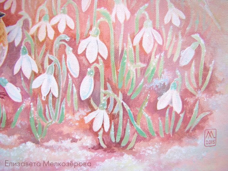 картина с цветами, подарок на 8 марта, 8 марта
