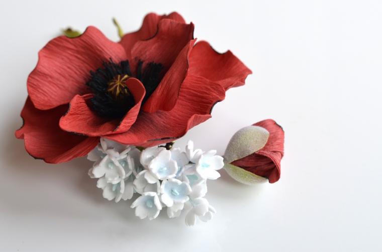 студия крылья искусства, украшения, цветы ручной работы, фоамиран