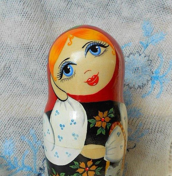мастер-класс по росписи, куклы