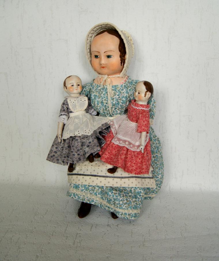 изанна уолкер, старинная техника, art doll