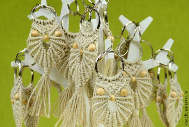 совы, плетение, бусины, makrame, кольцо, ключ, украшение, украшение своими руками, совет, птицы