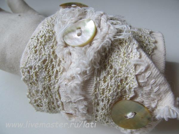 броши из ткани