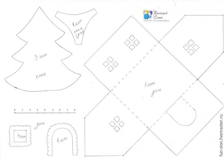 Шьем яркий и реалистичный игровой коврик из фетра, фото № 4