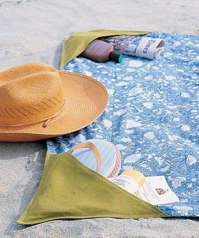 Пляжные коврики своими руками