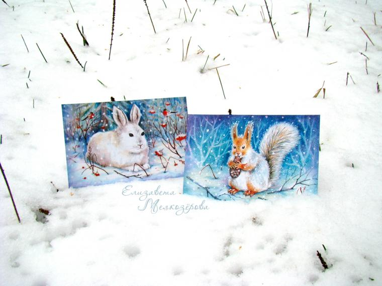 зима, подарочный набор