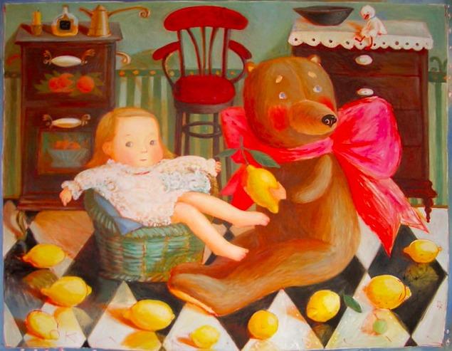 Путешествие в детство с белорусской художницей Анной Королёвой, фото № 10