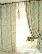 Вариант декора шторы в стиле прованс