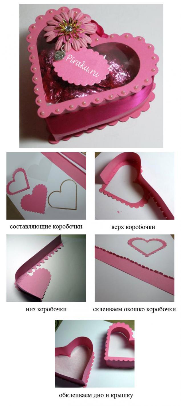 Влюбленное сердце. Оригинальные идеи упаковки подарка., фото № 29