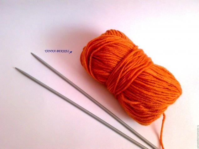 мастер класс по вязанию шапки узором плетение и вязание колоска<br />