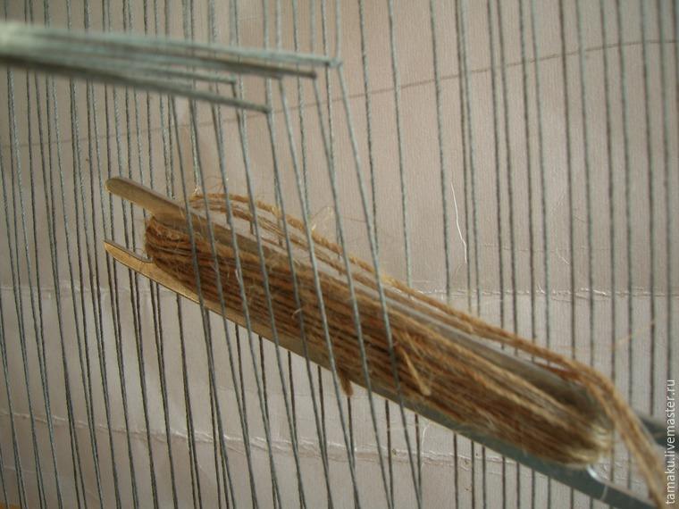 ткачество с использованием ремизки