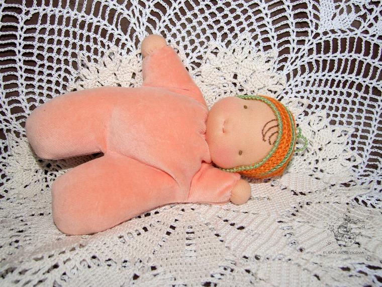 вальдорфская кукла, кукла мастер класс, кукла своими руками