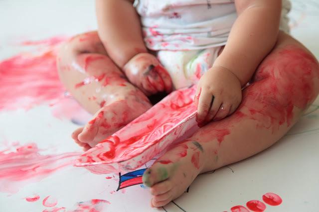 Как рисовать с малышом полутора лет, фото № 9