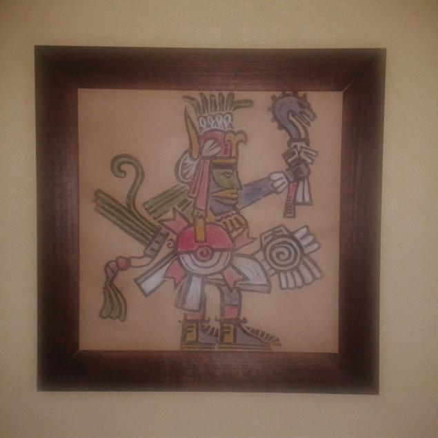 новое поступление, ацтеки, сувениры, графика