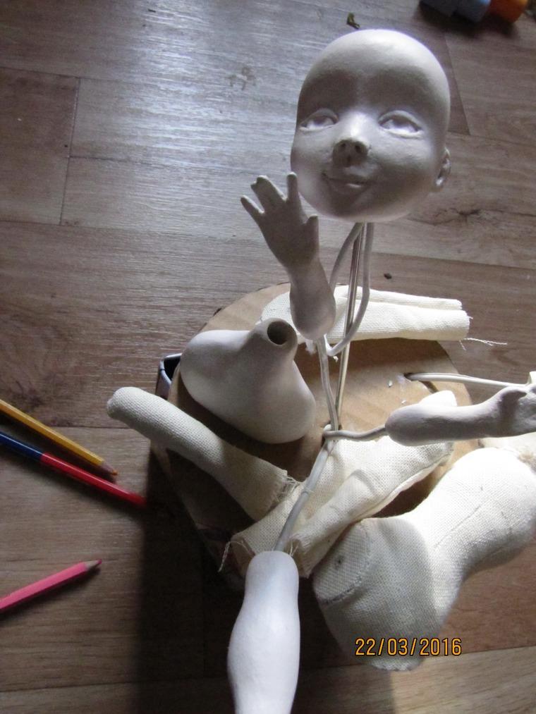 процесс создания куклы
