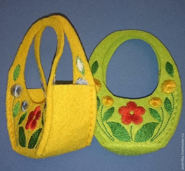 Делаем корзиночку для пасхального яйца из фетра, фото № 16