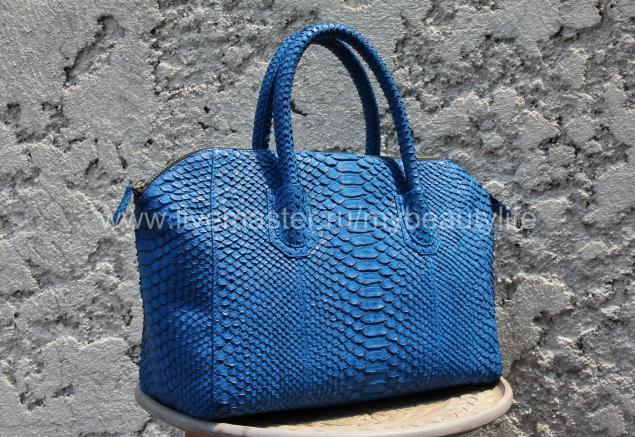 сумка, из кожи питона