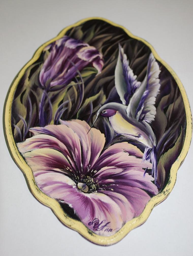 артзаготовка, один мазок, курсы росписи, роспись по дереву