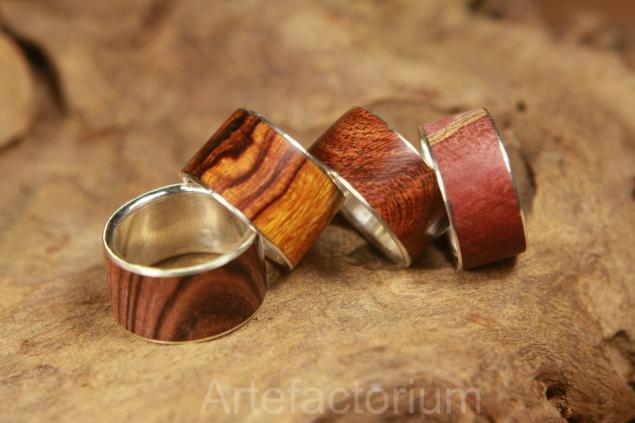 мастер-класс, ювелирное искусство, кольца с деревом