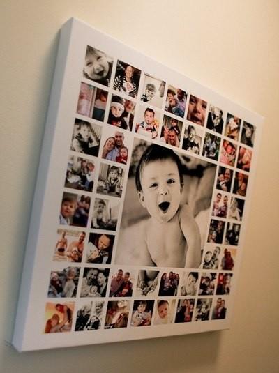 Фотоколлаж как сделать из нескольких детских фотографий