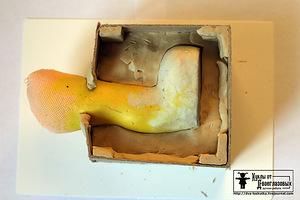 Как сделать обувь для кукол из пластилина фото 620