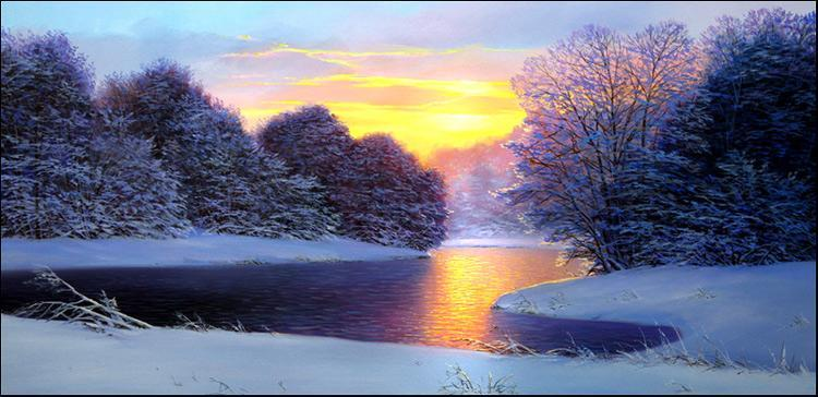 Белых Алексей. Утро на реке Королок
