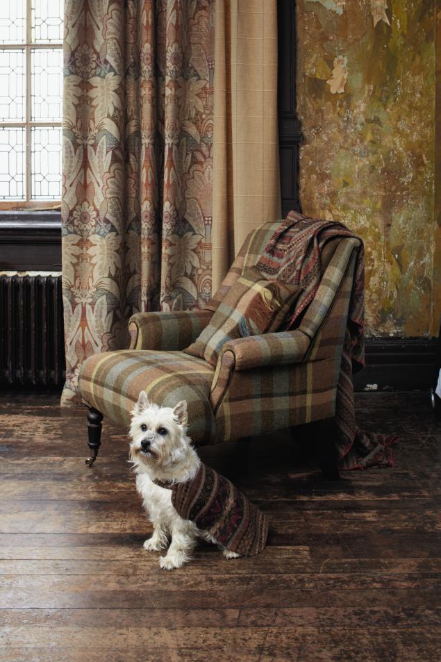 английские ткани, ткани для мебели