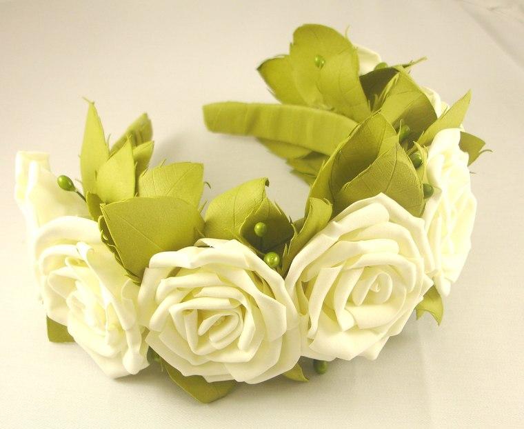 фоамиран, роза из фоамирана