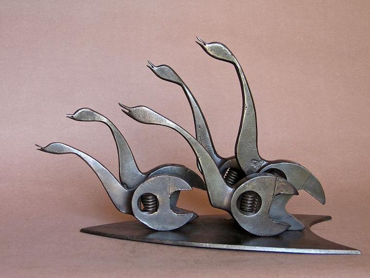 Грация, движение, нежность и юмор в работах французского скульптора ean-ierre ugie, фото № 3