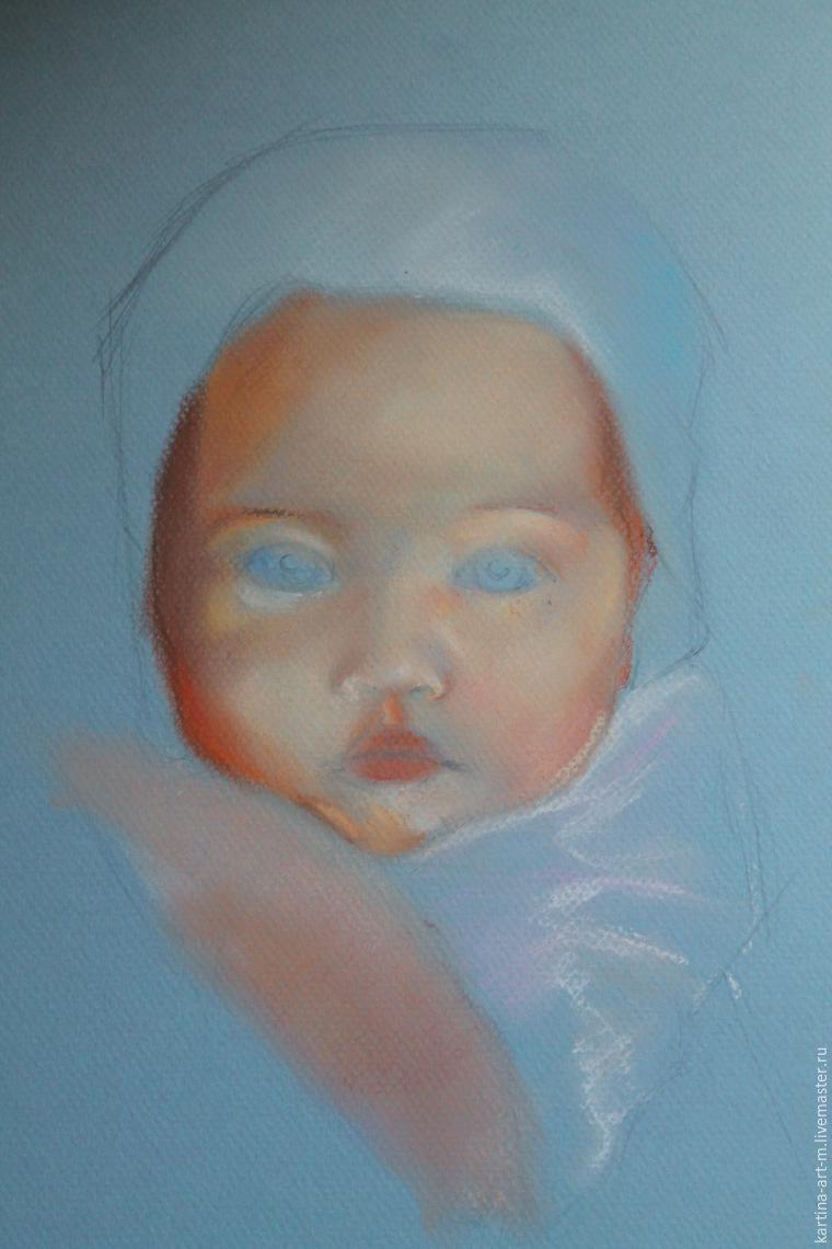 Как рисовать пастелью с ребенком