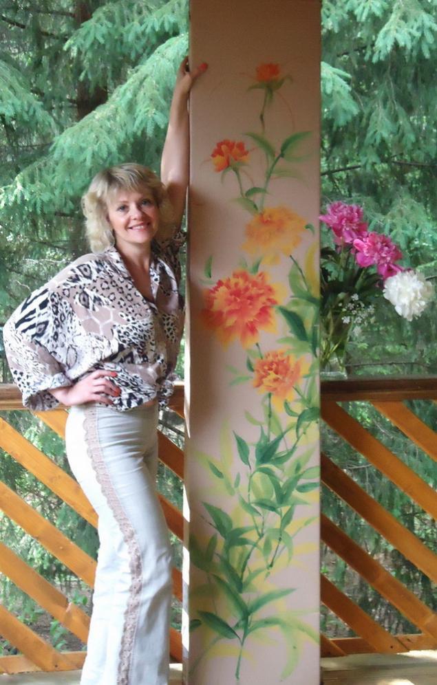 картины, бабочки, цветы, натали котова, обучению рисованию, выходные, творчество
