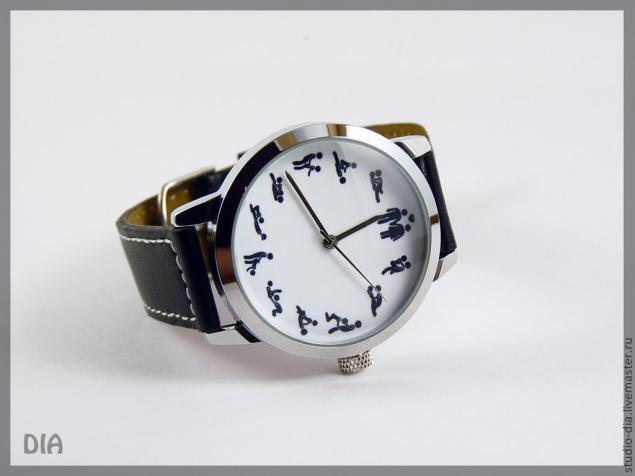 дизайнерские часы, часы на заказ