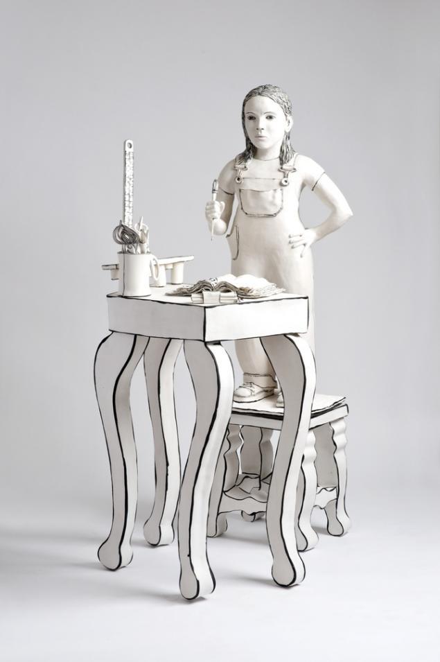 Керамические скульптуры Katharine Morling, фото № 12