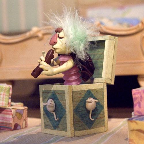 Невероятные кукольные домики и интерьеры Hila Rosenberg. Часть 2, фото № 8