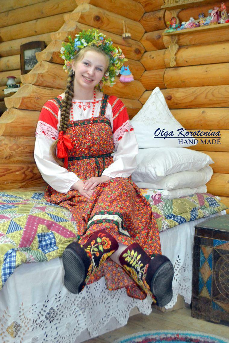 русский стиль, уютный дом