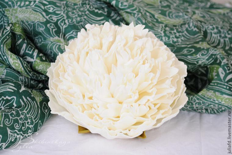 мк цветы, цветы из фоамирана