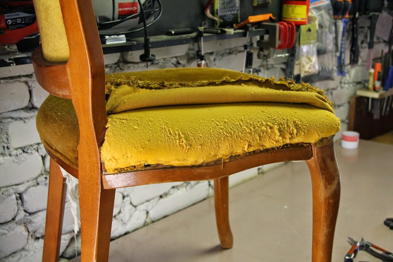 Реставрируем стул своими руками мастер класс фото 869