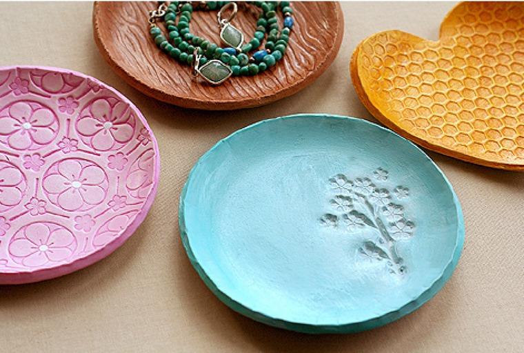 Как сделать тарелку из керамики