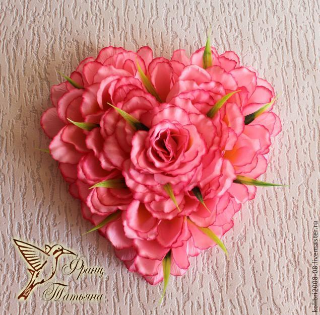 день святого валентина, цветочная валентинка, подарок девушке