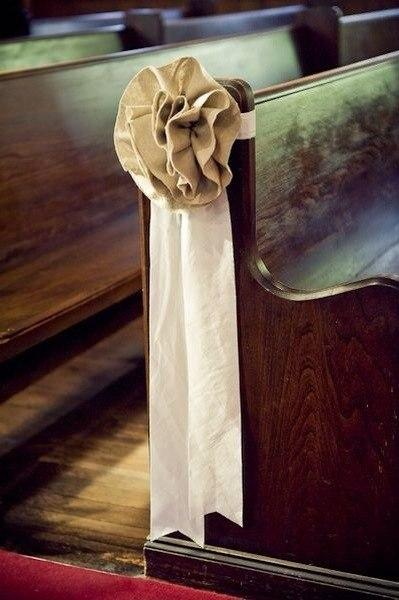 Льняная свадьба. Идеи для вдохновения, фото № 18