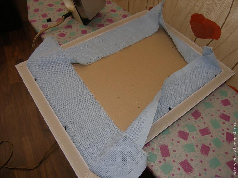 Оформление готовой вышивки в рамку, фото № 2