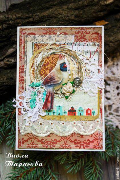 открытка, блокнот ручной работы