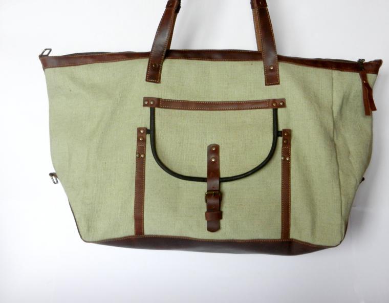 Мужская сумка из брезента своими руками 21