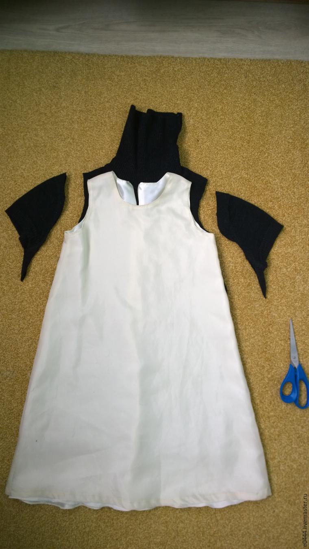 Перешить платье на дочку