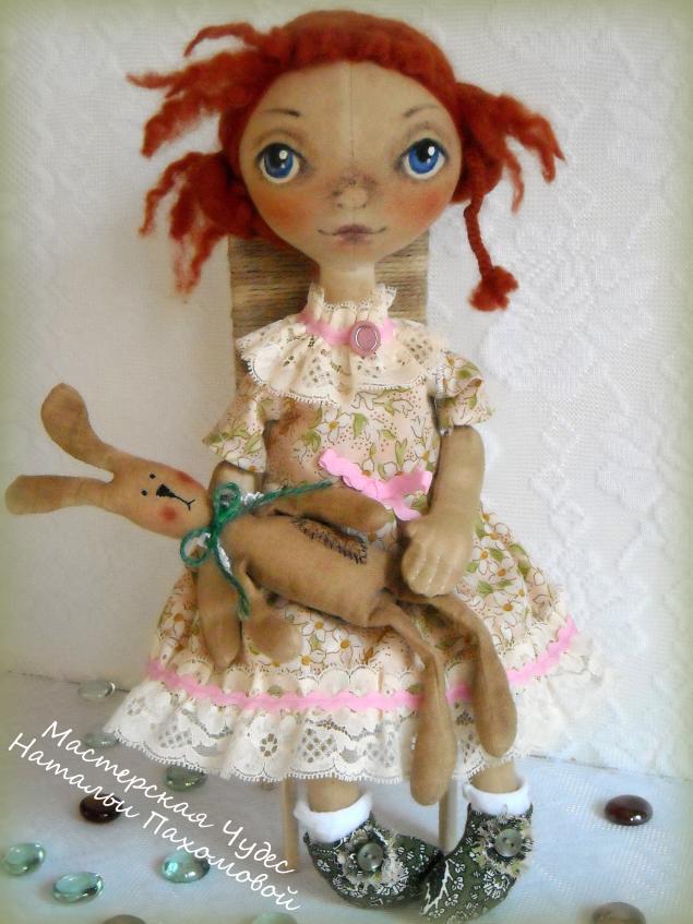 мк по тыковке, кукла своими руками